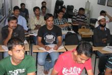The classroom........