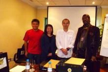 The Delegates of Training Needs Analysis: Determining Training Needs, with Prof. Dr. Crawford in Coral Deira Hotel, Dubai, UAE