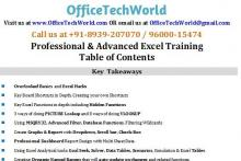 Advanced Excel Training For Corporate
