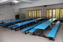 A balanced and nutritious diet is served by the most reputed caterers in well-ventilated dining halls with a Fully Mechanized Kitchen with cold storage & Fully Mechanized Bakery for students in hostels and Day scholars